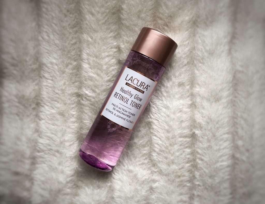 Aldi Skincare Lacura Healthy Glow Retinol Toner