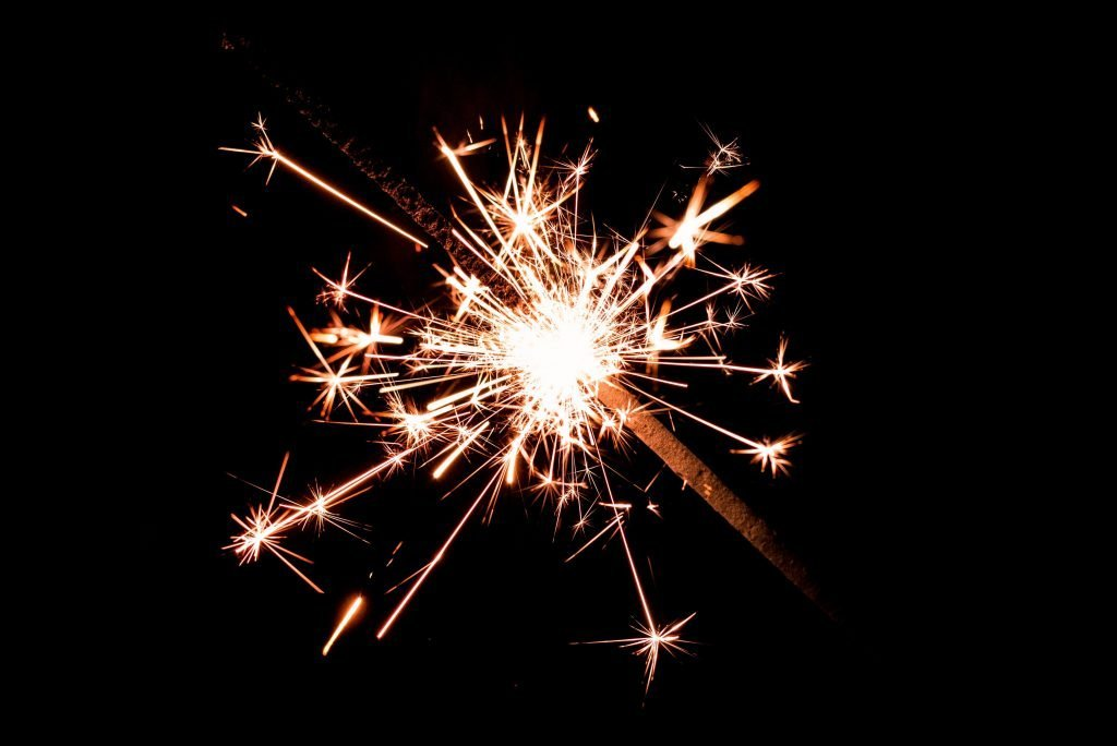 Bonfire Night Activities For Children - Sparklers