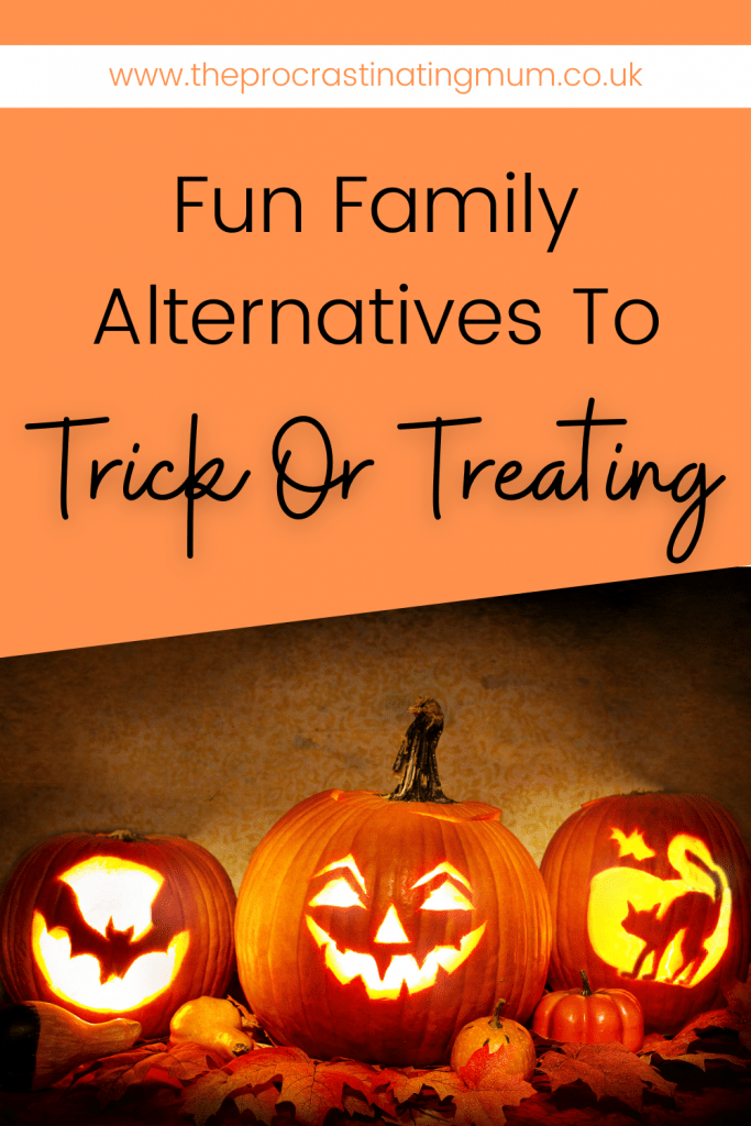 Fun Family Alternatives To Trick Or Treating pin