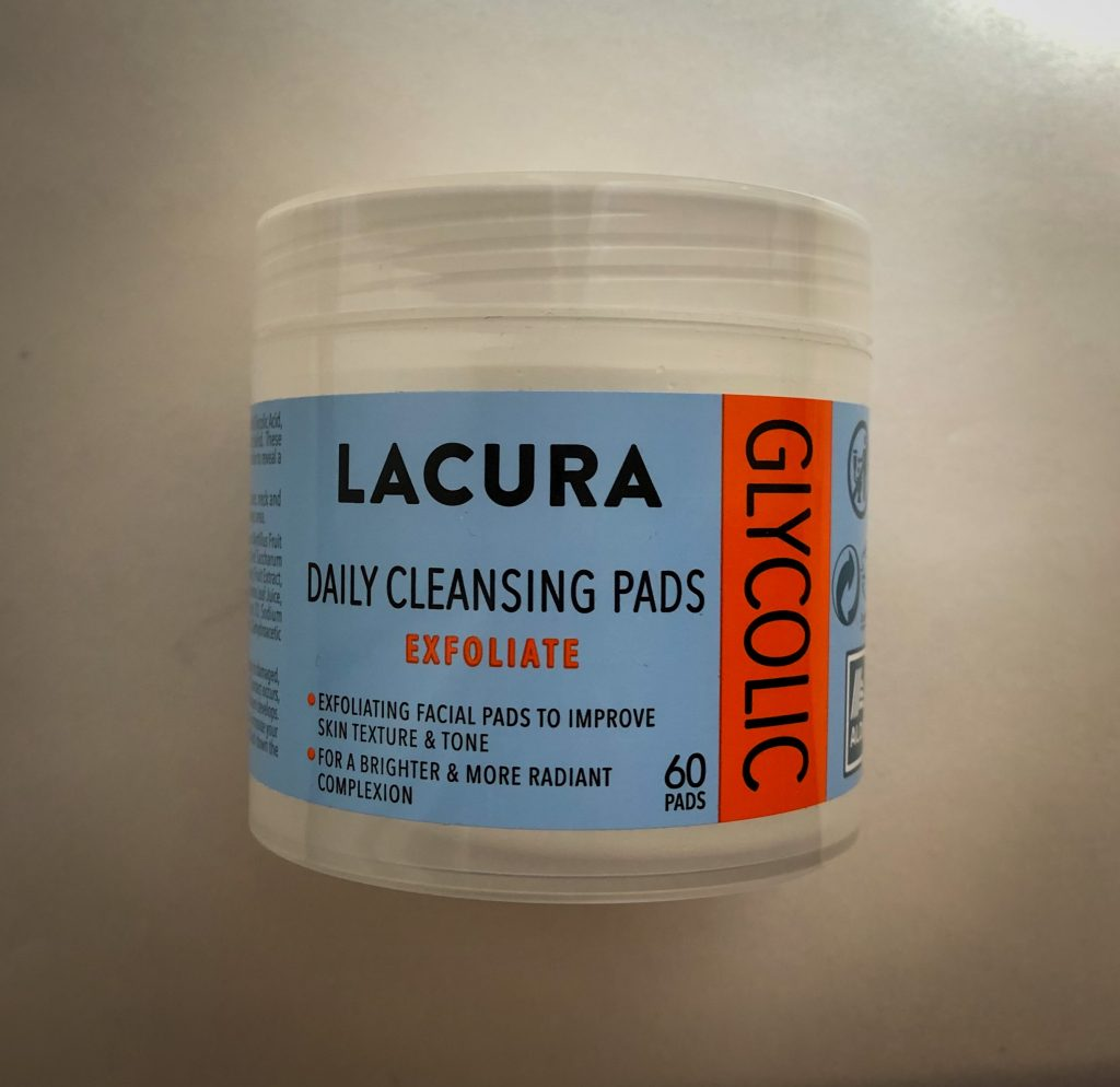 Aldi Skin Care - Lacura Glycolic Daily Cleansing Pads