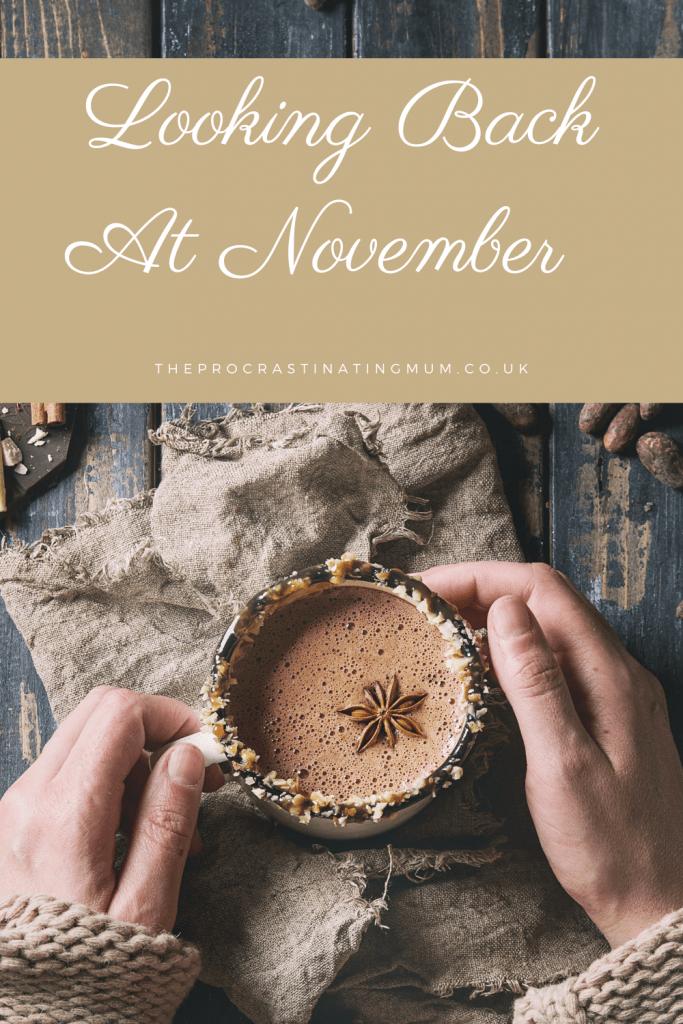 Looking back at November Pinterest pin