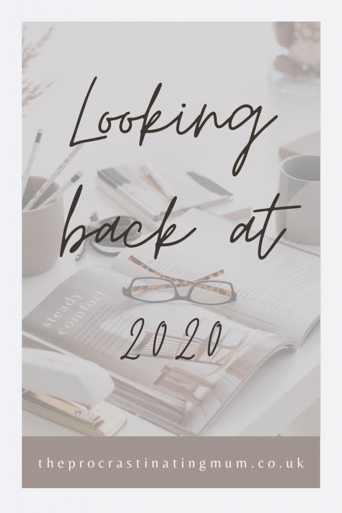 Looking back at 2020 Pinterest Pin