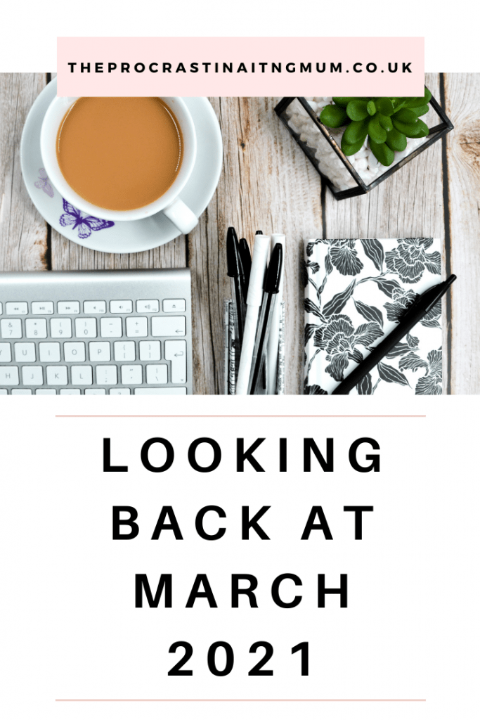 Looking Back At March 2021 Pinterest Pin