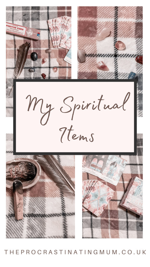 My Spiritual Items Pinterest pin