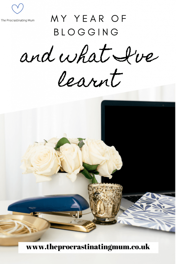 My year of blogging and what I've learnt